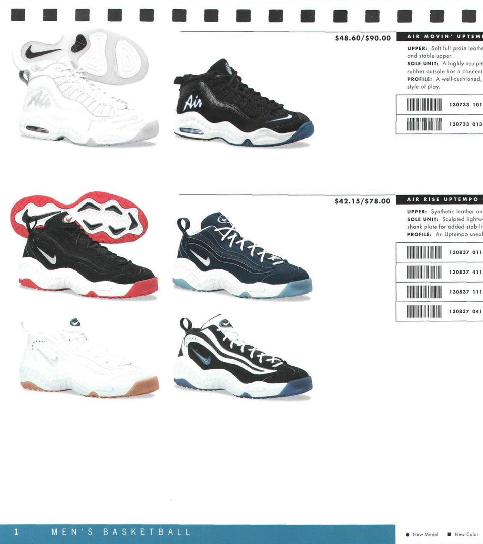Classic Catalogs: 1997 Nike Basketball Footwear Apparel