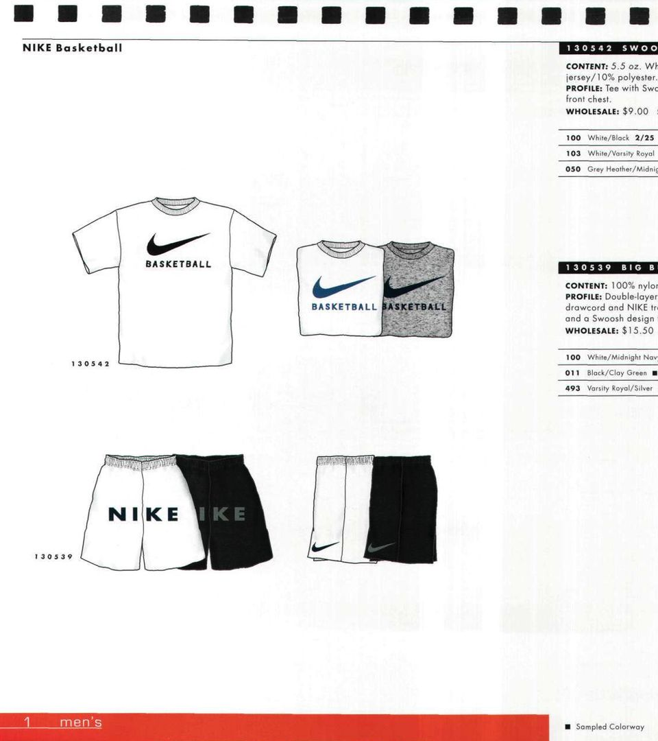 1997 Nike Basketball Footwear Apparel