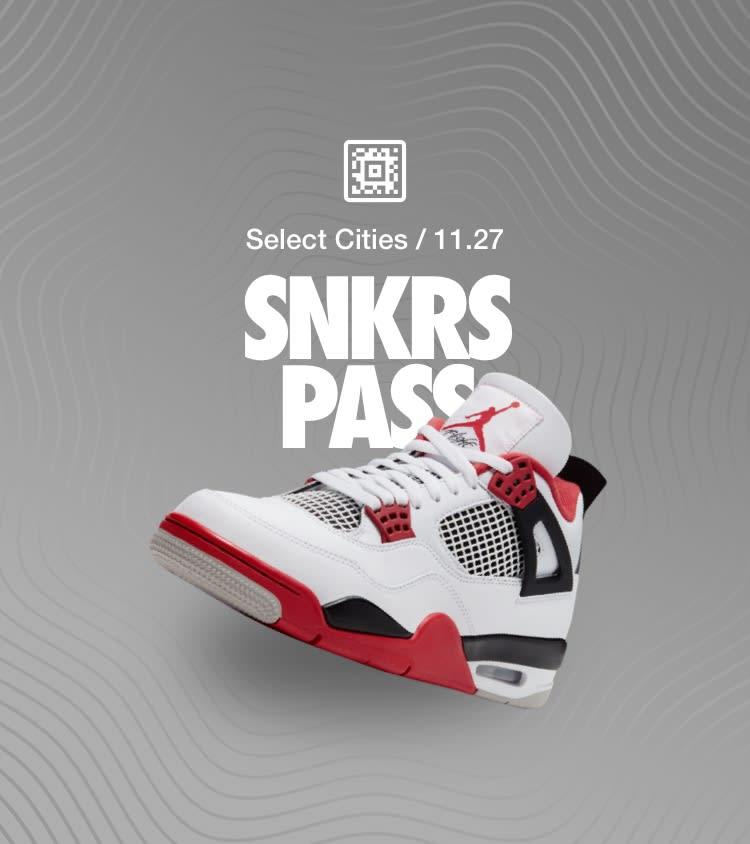 snkrs website