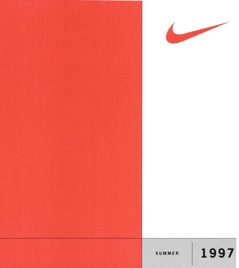 Klassiske kataloger: 1997 Nike Basketball skoklær. Nike