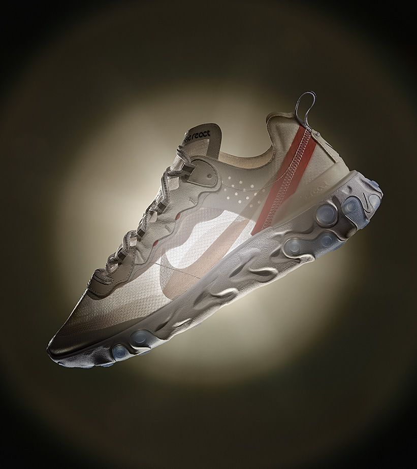 Behind The Design: React Element 87. Nike SNKRS