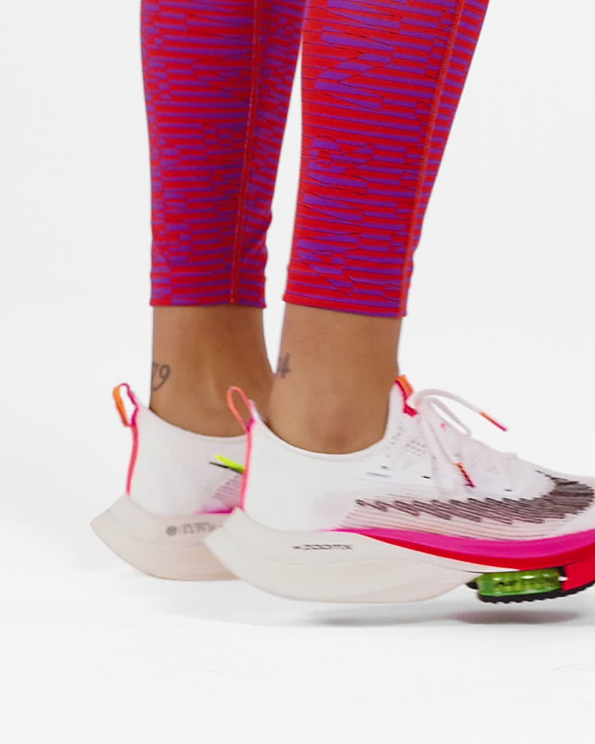 Nike Air Zoom Alphafly NEXT% Flyknit Women's Road Racing Shoes