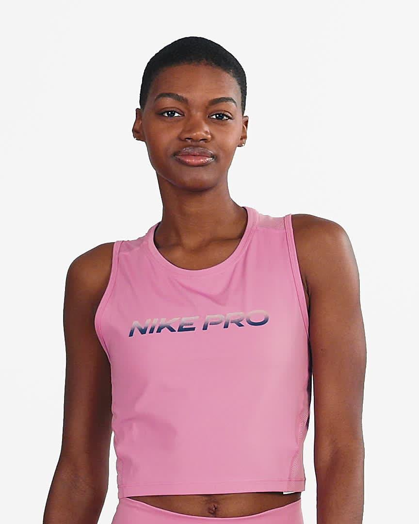 Débardeur court Nike Pro pour Femme