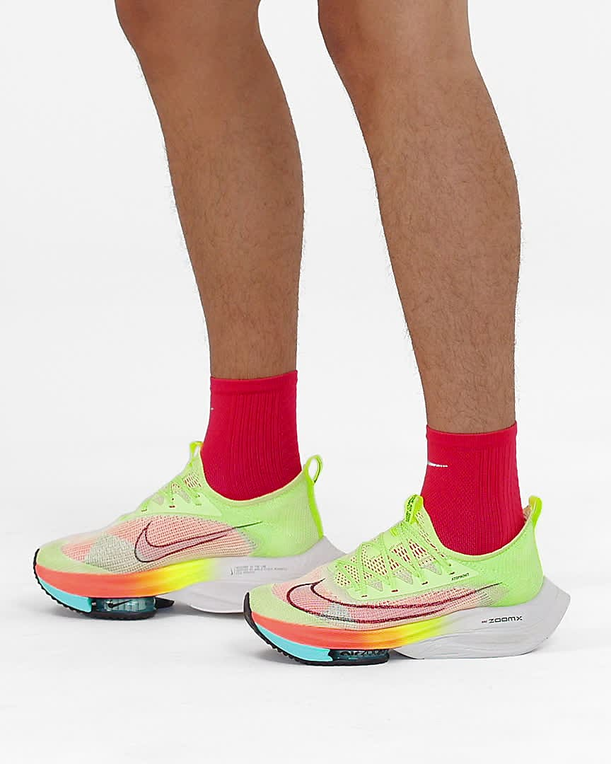 Nike Air Zoom Alphafly NEXT% Men's Road Racing Shoes. Nike ID
