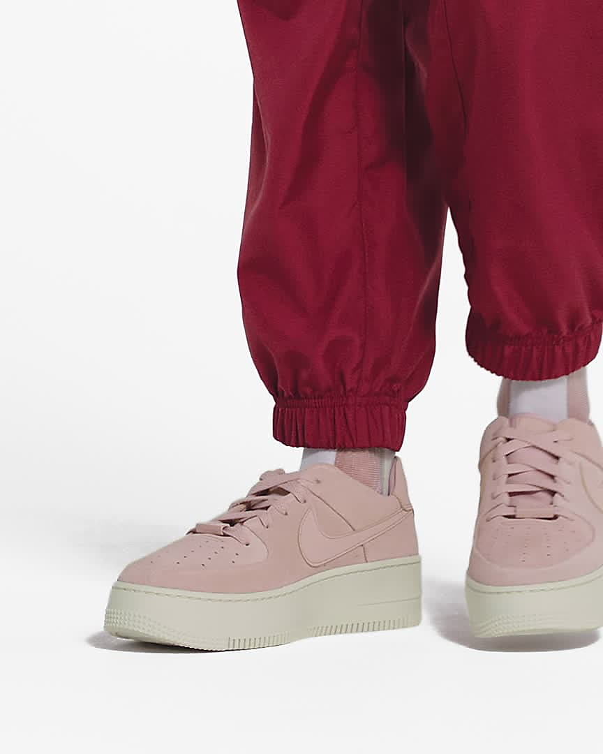 air force 1 donna rosa fluo