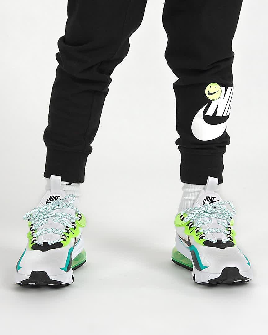 chaussure nike enfant air max 270 vertes