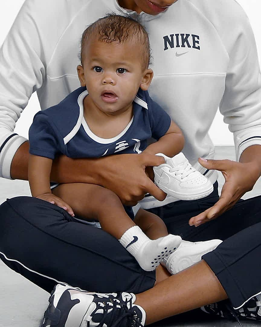 Nike Force 1 Crib Baby Bootie. Nike.com