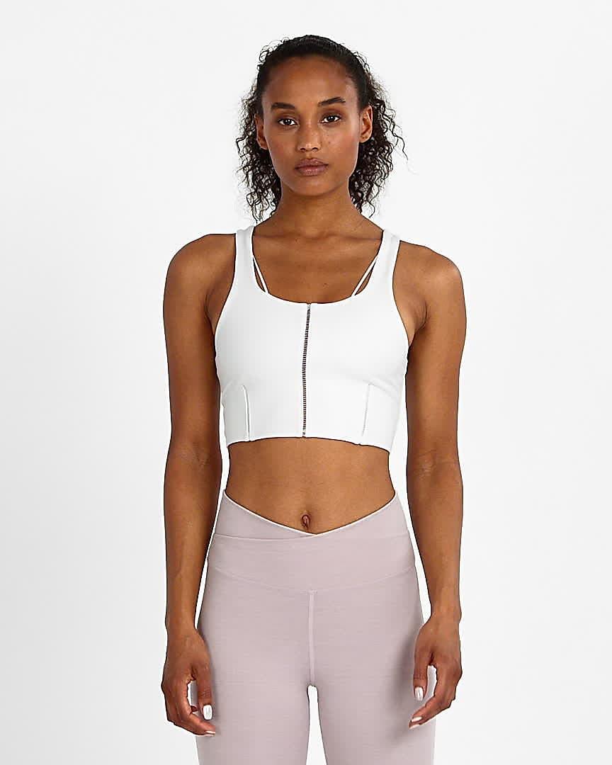 Nike Yoga Luxe Women S Infinalon Cropped Tank Nike Com