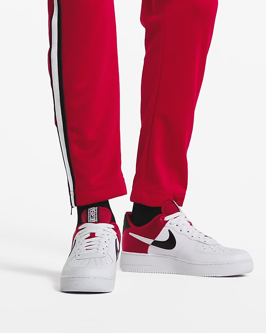 air force 1 blanca y roja