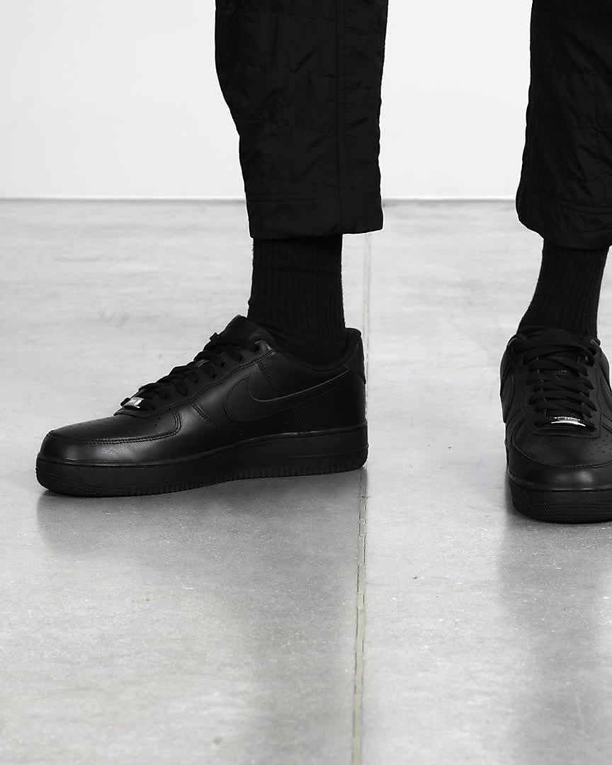 air force 1 07 uomo nero