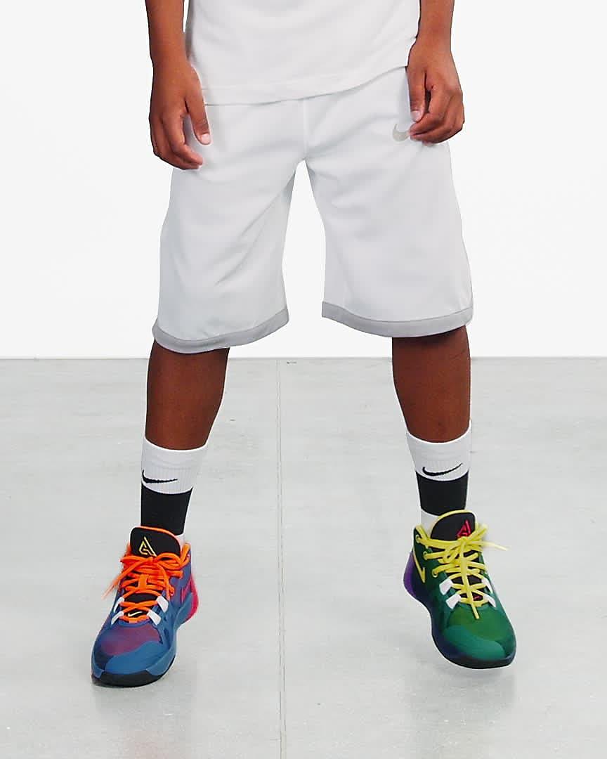 Boys/' Big Kids/' Nike Zoom Freak 1 1//2 Basketball Shoes Total Orange//Dynamic Yell
