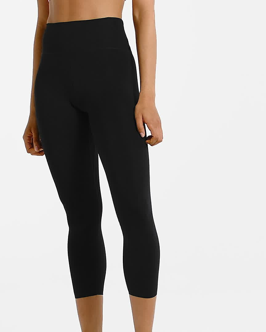 Nike One Luxe Women S Mid Rise Cropped Tights Nike Com