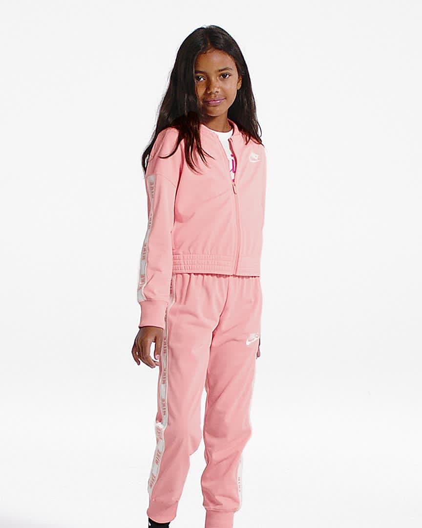 Nike Sportswear Girls Tracksuit Nike Id