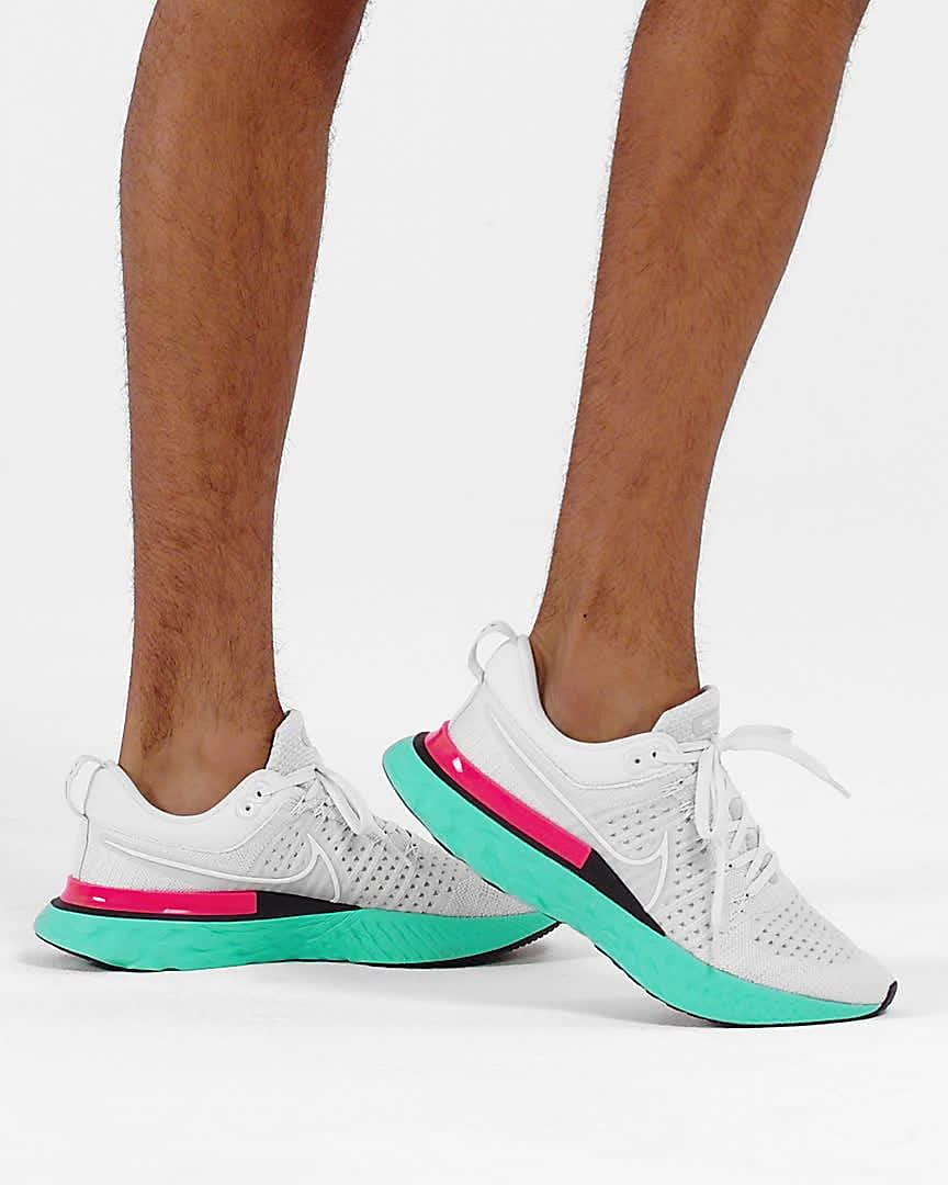 Nike React Infinity Run Flyknit 2 Men's Running Shoes. Nike ID