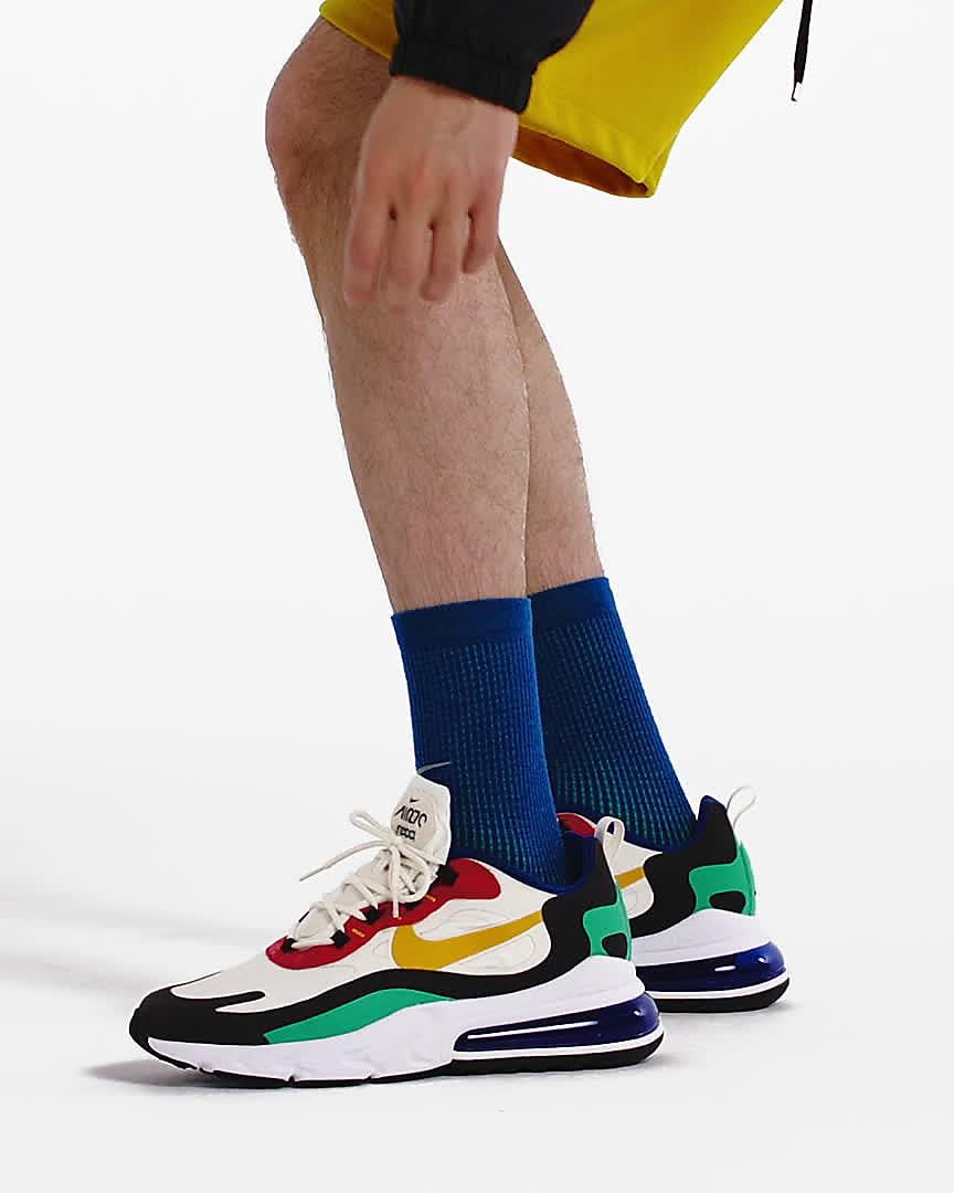 verano luces Ensangrentado  Nike Air Max 270 React (Mid-Century Art) Men's Shoes. Nike LU