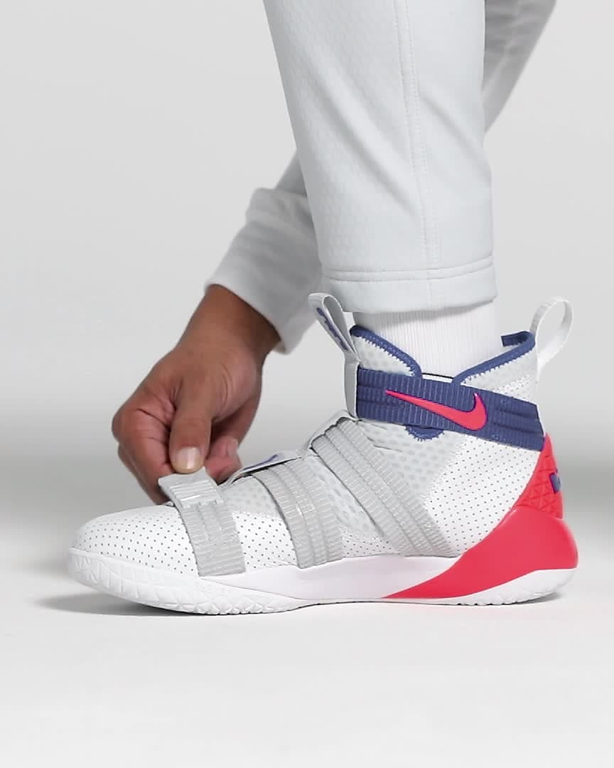LeBron Soldier XI SFG 籃球鞋。Nike TW
