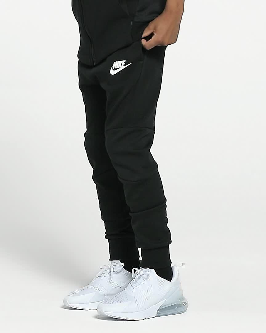 Nike Hose Academy Tech Pantal/ón ni/ño XS Negro//Blanco Black//White