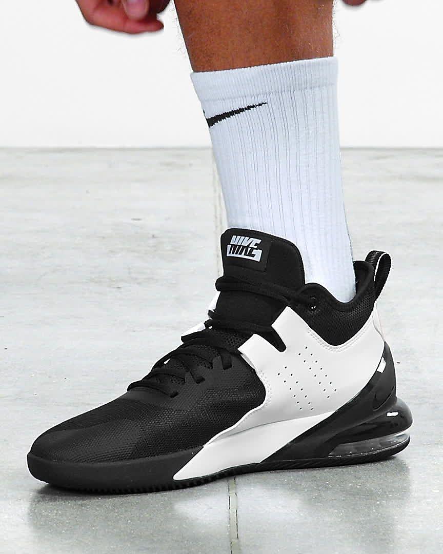 basket nike air max noir et blanc