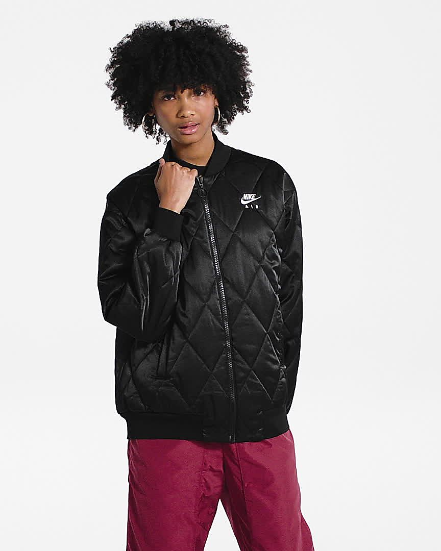nike quilted shirt