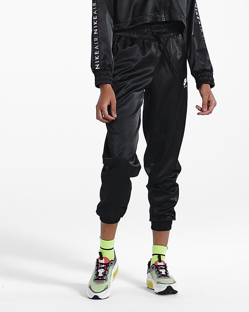 nike sweats women's black