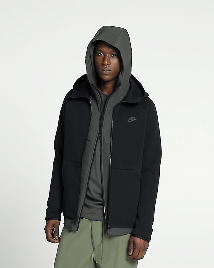 felpa nike tech fleece uomo