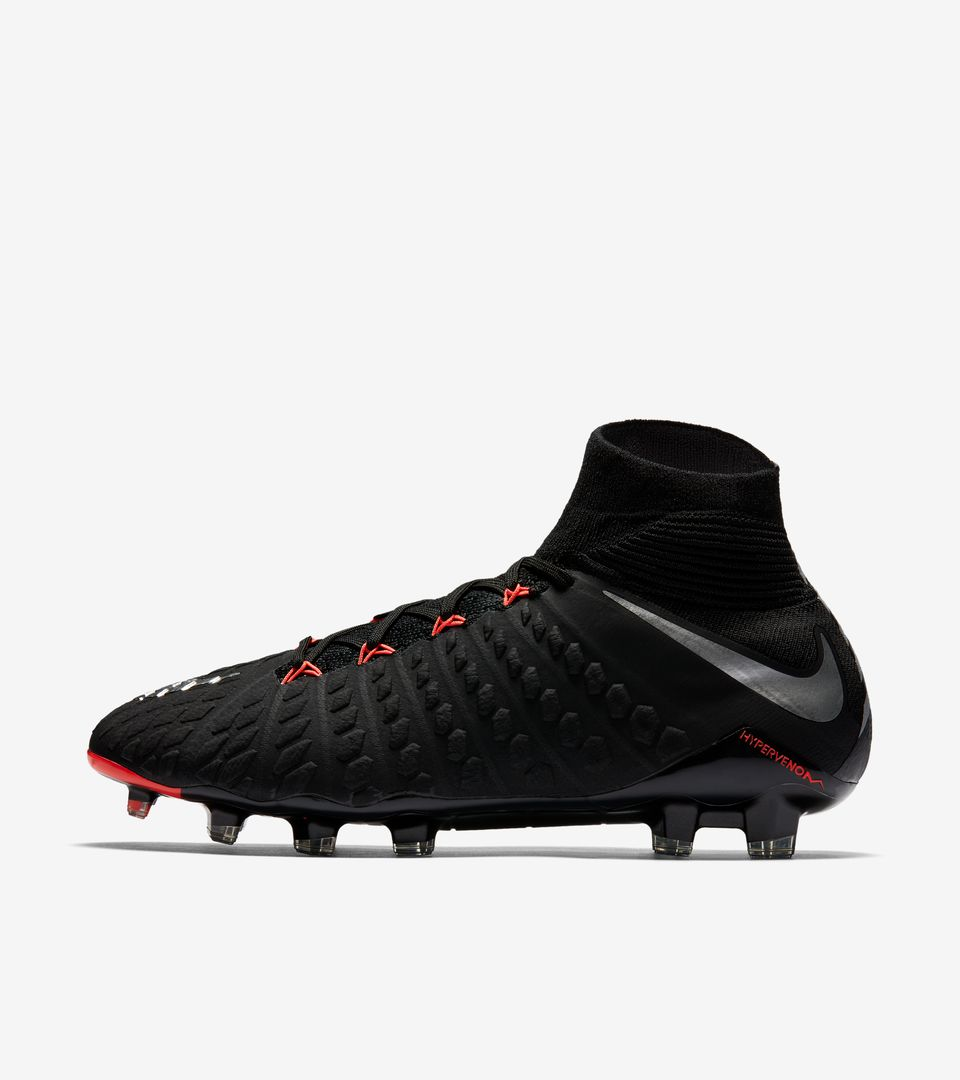 nike hypervenom phantom 3 df fg 39 strike night 39 nike soccer. Black Bedroom Furniture Sets. Home Design Ideas