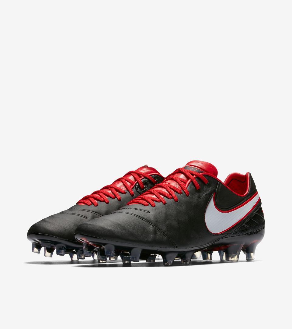 Nike Tiempo Legend VI FG 819177 016 Black University Red White White